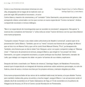 FARO DE VIGO RABABIERO PROMOCIONES