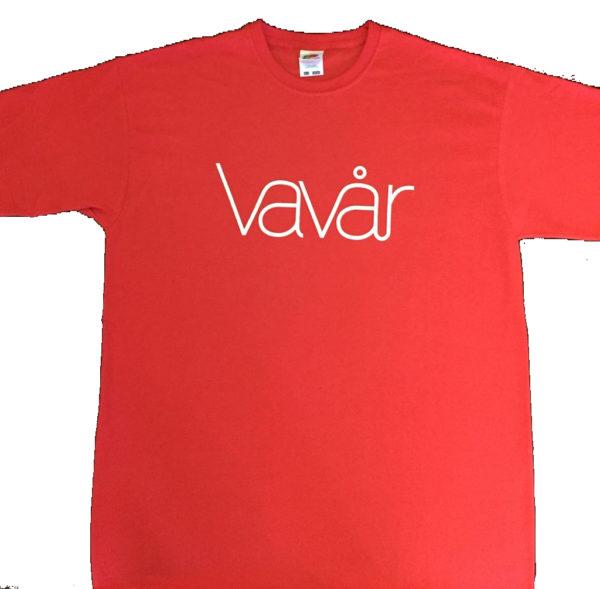 Camisetas Vavår Rababiero Promociones Artísticas en Coruña
