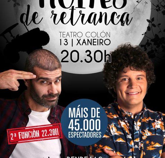 NOITES DE RETRANCA (ENERO 2018)