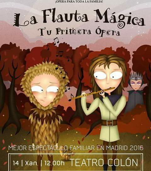 (Español) LA FLAUTA MAGICA (2018 CORUÑA)